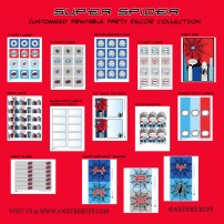 Super Spider Hero Printable Collection